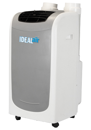 IDEAL-AIR DUAL HOSE PORTABLE A/C - 12,000 BTU 700820