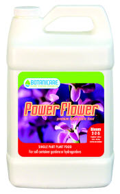 POWER FLOWER 2-2-5 ONE PART GROW FORMULA WITH SILICATE 718325