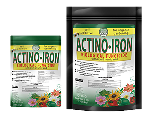 ACTINO IRON ORGANIC FUNGICIDE 9 oz BAG 721510