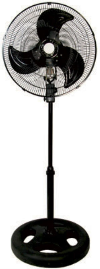 HYDROFARM ACTIVE AIR COMMERCIAL 18 INCH OSCILLATING PEDESTAL FAN ACFP18