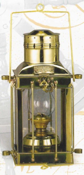 BRASS CARGO LAMPS OIL OR ELECTRIC OR TOUCH CONTROL BL-836