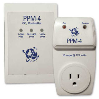 CAP PPM-4 CO2 MONITOR PPM4