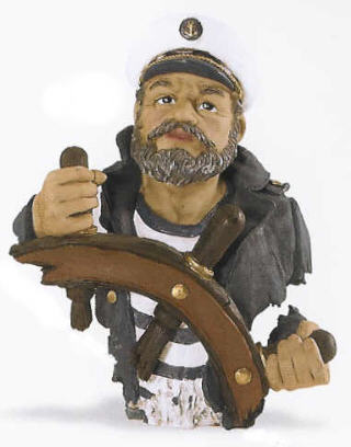POLYSTONE CAPTAIN 10 INCHES HIGH PS-319