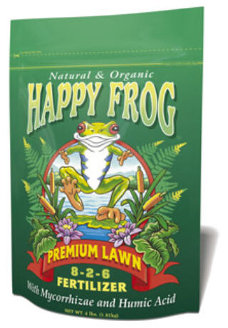 FOXFARM HAPPY FROG PREMIUM LAWN FERTILIZER 720177