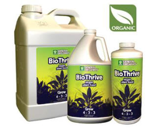 GENERAL ORGANICS BIOTHRIVE GROW 726800