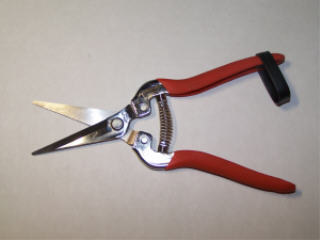 STAINLESS STEEL SERRATED FLORAL BUNCH CANE CUTTER H302S