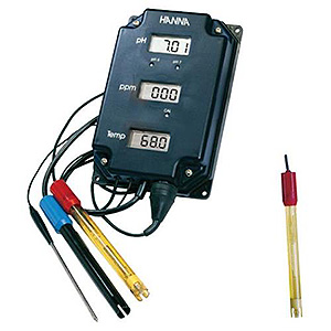 HANNA pH-TDS_TEMP MONITOR MODELl HI 981504-7 716810