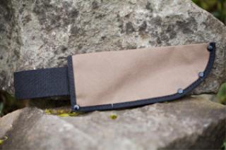 """ZENPORT HJ-210 7.75""""X3"""" CANVAS KNIFE SHEATH HJ-210"""