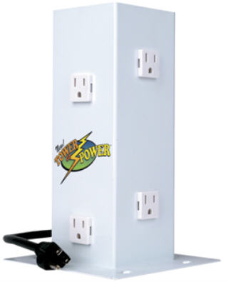 HYDROFARM TOWER OF POWER ELECTRICAL OUTLET TMTOP6