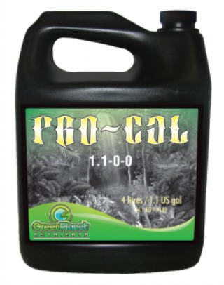 HYDRO FUEL GREEN PLANET PRO-CAL (1.1-0-0) #HFPC1L