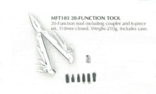 20 FUNCTION MULTI TOOL MFT103