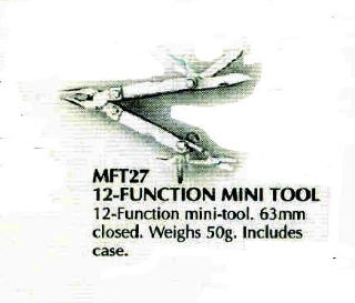 12 FUNCTION MULTI TOOL MFT27