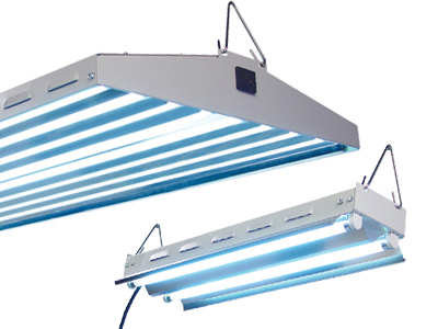 NEW WAVE T5 - 44 4FT/4 LAMP FLORESCENT REFLECTOR 960200