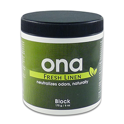 ONA BLOCK FRESH LINEN 6 OZ 700325