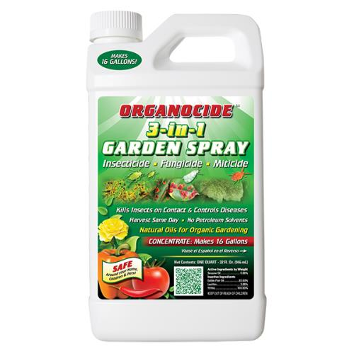 ORGANOCIDE ORGANIC INSECTICIDE QUART - OMRI LISTED 704100