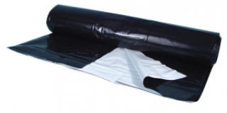 Pandafilm White & Black Poly Film (10ft x 25ft, 10ft x 50ft, 10ft x 100ft) 730100
