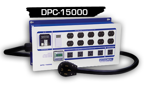 POWERBOX DPC-15000-50A-4P (PLUG&PLAY) HID LIGHT CONTROLLER 702955
