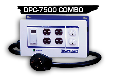 Powerbox DPC-7500-COMBO-4P HID Light Controller 702925