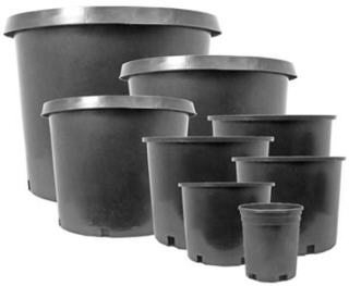 GRO PRO PREMIUM NURSERY POTS - PACKS OF 25 724800