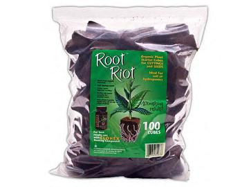 Root Riot Plugs 100 Cubes 714132