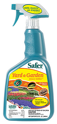 SAFER YARD & GARDEN INSECT KILLER 704105