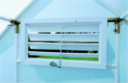 SOLEXX CLOSEABLE BASE VENTS AND EASY FLOW LOUVER  HV-30
