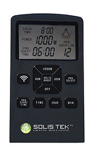 SOLIS TEK REMOTE CONTROL FOR THE MATRIX DIGITAL BALLAST STK1000LCD RC1000