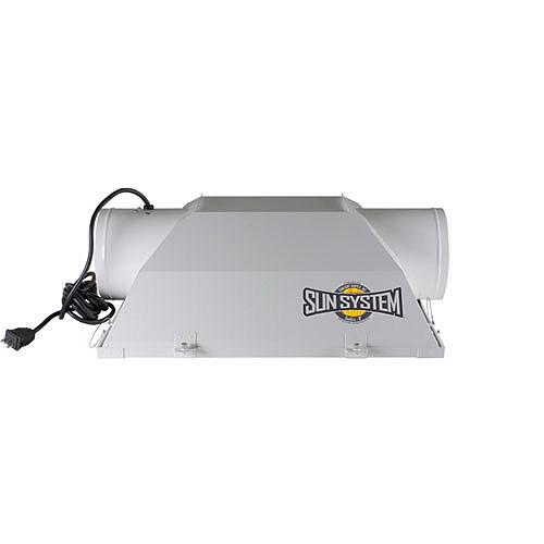"""SUN GRO 6"""" AIR COOL REFLECTOR ETL LISTED - 3 EACH 904682"""