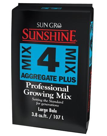 Sunshine Mix # 4 Aggregate Plus Bale 3.8 cu ft (Pallet of 30) 714745