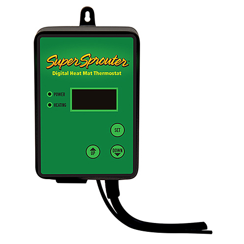 SUPER SPROUTER SEEDLING HEAT MAT DIGITAL THERMOSTAT 726700