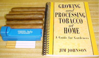 Growing and Processing Tobacco at Home by Jim Johnson TA80