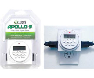 TITAN APOLLO 9 DUAL DIGITAL PLUGIN TIMER #734105
