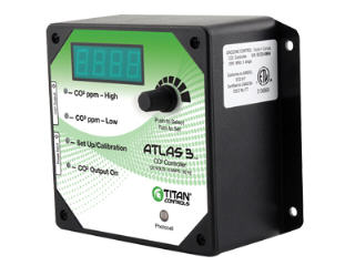 TITAN ALTAS 3 CO2 CONTROLLER ETL LISTED 702608