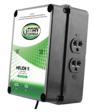 TITAN CONTROL HELIOS 11 4 LIGHT HID CONTROLLER #702820