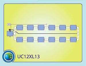 The Under Current™ XL13 System 12 CC12XL13
