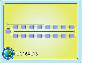 The Under Current™ XL13 System 16 #CC16XL13