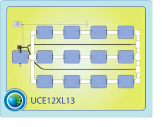 The Under Current™ Evolution™ XL13 System 12 CCE12XL13