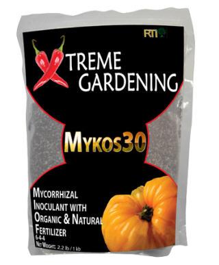 XTREME GARDENING MYKOS 30 6-4-4 MYCORRHIZAL INOCULANT 721250