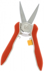 Zenport H350LC Stainless Precision Micro Trimmer Curved Twin Blade Shear H350LC