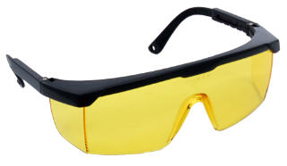 ZENPORT SG2612 WRAP-AROUND AMBER SAFETY GLASSES #SG2612