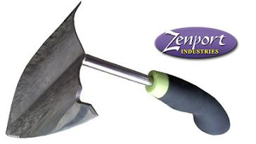 ZENPORT ZP220010C GARDEN PLOW WITH ERGONOMIC SOFT CUSHION GRIP ZP220010C