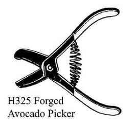 5.25 INCH STAINLESS STEEL AVOCADO PICKER #H325